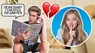 Leaving Out My SECRET DIARY For My CRUSH To Find PRANK... **I CHEATED**📕💔|Emily Dobson