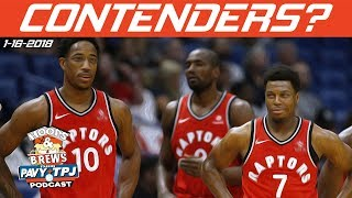 Can Raptors Contend For Title? | Hoops & Brews
