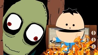 Salad fingers: Wheres may gone act 1 - Let´s burn the baby