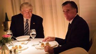 Romney praises Trump after dinner meeting
