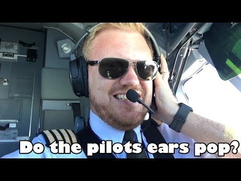 Do the pilots ears pop?