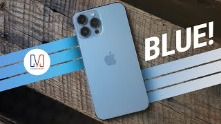 BLUE iPhone 13 Pro Max Unboxing & Hands-On!
