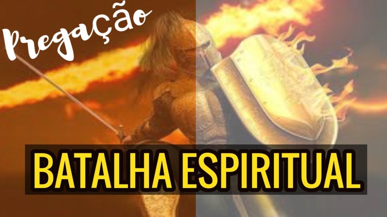 Pregação nos estamos em Guerra Espiritual Batalha Espiritual