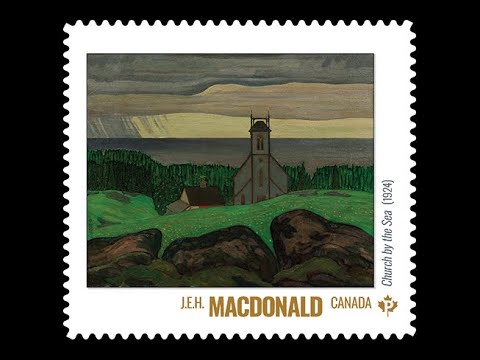 Canada Post | Group Of Seven Commemorative Stamp Launch