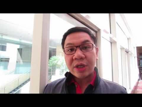 Ryan Quan, Coordinator of the Ateneo de Manila University's Graduate Legal Studies Institute, discusses RWI's Human Rights and Environment workshop in ...