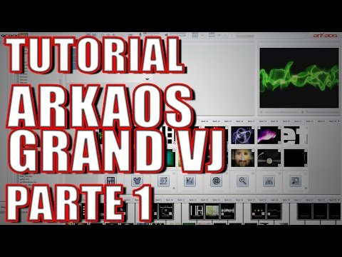 TUTORIAL ARKAOS GRAND VJ parte 1