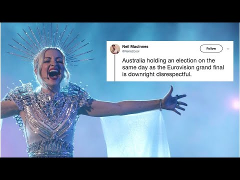 VIDEO: Eurovision Fans Are Mad At Morrison For Setting The Election On Finale Day