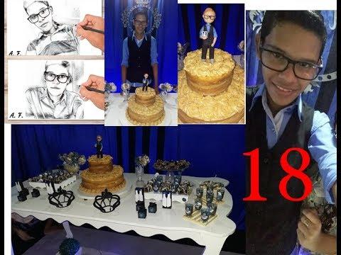 Abyfaz18 Festa De Aniversario De 18 Anos Masculino Youtube