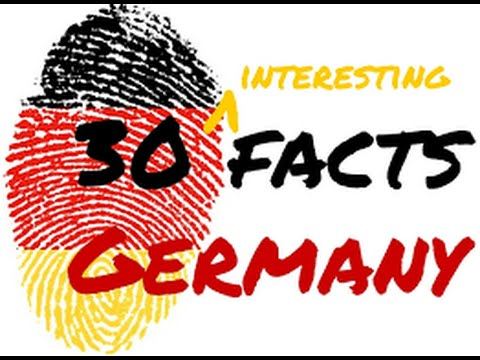 10 facts about Germany - fun and interesting Germany facts || EYM