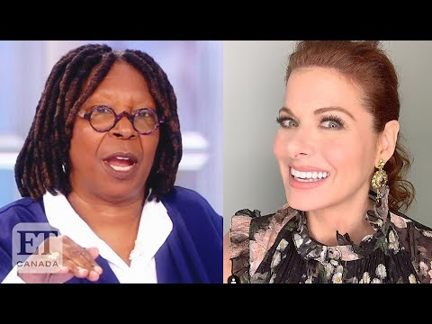 Whoopi Slams Debra Messing's Request For Trump Supporters List