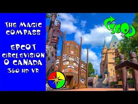 WDW Epcot O Canada 360 HD VR