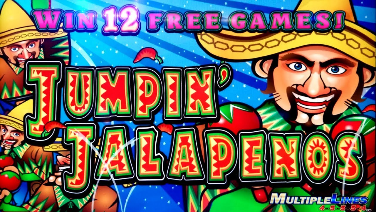 Jumpin Jalapenos Slot Machine Bonus Win
