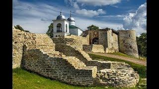 Крепость Изборск XIV-XVI века.