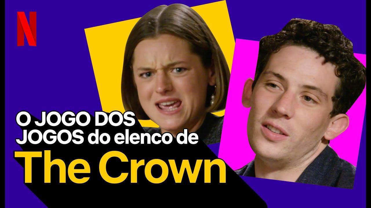O Jogo dos Jogos do elenco de The Crown | Netflix Brasil
