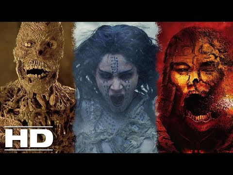 THE MUMMY - EVOLUTION (1932 - 2017) : The Best Scenes