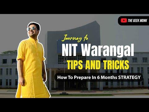 Journey to NIT Warangal 🔥   MCA after Btech ?   6 Months Preparation 😎 🔥