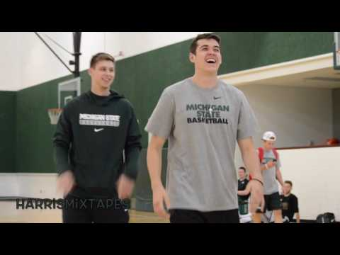 Bryn Forbes Workout with Former MSU Point Guard Thomas Kelley 2017