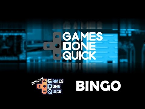 Awesome Games Done Quick is Here - Play AGDQ Bingo With Me!