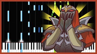Legends Never Die - League of Legends [Piano Tutorial] (Synthesia) // mzmaster