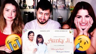 AUNTY JI | Shabana Azmi | Short Film Reaction | (We all cried!)