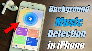 Shazam Shortcut For all iPhones || Background Music Detection in iPhones 🔥🔥 screenshot 4