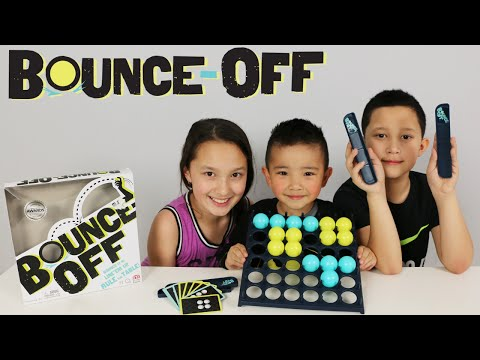 Mattel Bounce-Off Fun Kids Board Game Trick Shots Challenge Fun With Ckn Toys