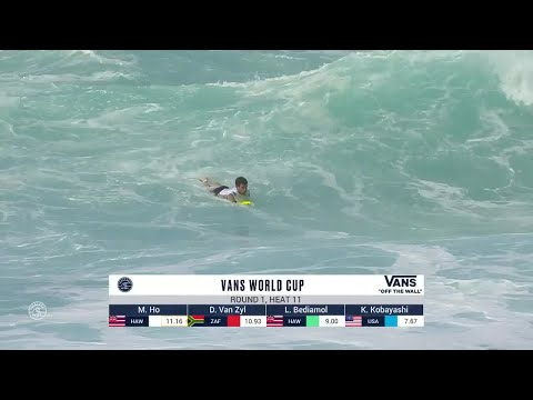 Vans World Cup, Men's Qualifying Series - Round 1 heat 11