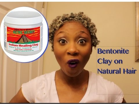 how to use bentonite clay on natural hair