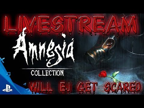 LIVE / AMNESIA COLLECTION  FREE ON PS STORE WILL EJ JUMPSCARE/PS4