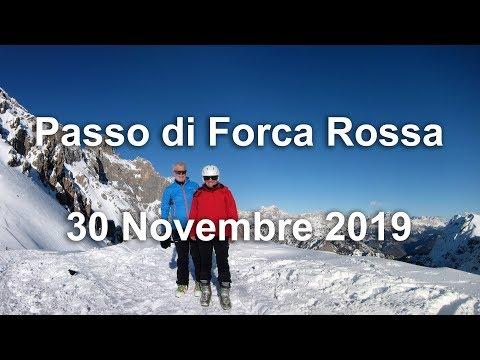 Passo Di Forca Rossa - 30 Novembre 2019 - Scialpinismo