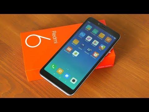Распаковка Xiaomi Redmi 6