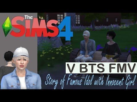TAEHYUNG WITH HIS GIRLFRIEND   THE SIMS 4 STORY