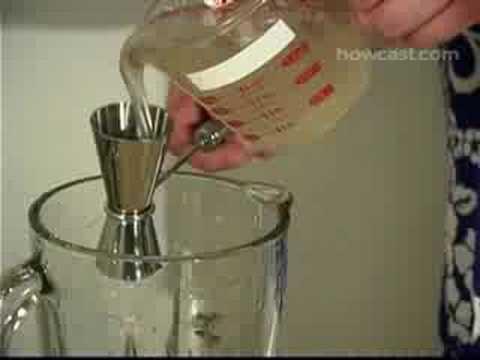 How to Make a Frozen Daiquiri