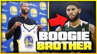 HOW GOOD IS BOOGIE'S BROTHER & WHY DID THE WARRIORS SIGN HIM?