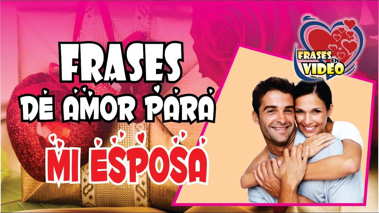 Frases Românticas De Amor: FRASES DE AMOR PARA MI ESPOSA