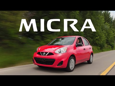 2018 Nissan Micra Review - The Cheapest New Car You Can Buy