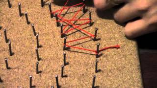 how to make string art decorations captain america shield