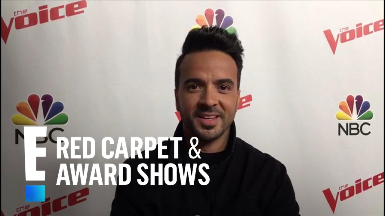 Luis Fonsi Talks Despacito Performance On The Voice E Red Carpet Live Events