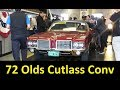 CLASSIC CARS OLDSMOBILE CONVERTIBLE SOLD ~ AUCTION SALE + MONTE CARLO