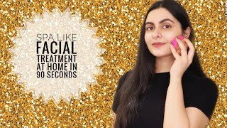 Spa like facial at home in 90 seconds with FOREO UFO