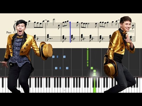 Dan and Phil - The Internet Is Here - Piano Tutorial