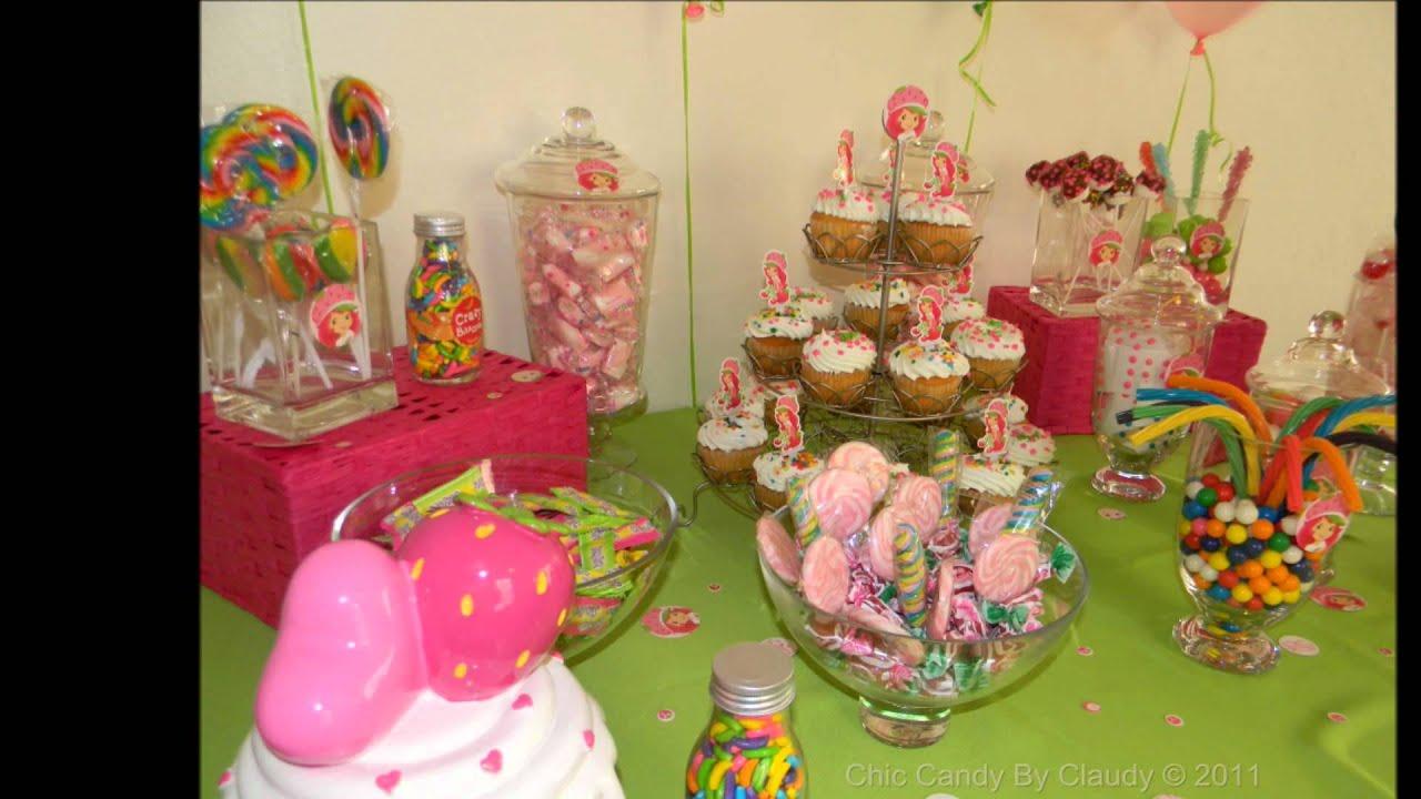 Candy Buffet Puerto Rico Strawberry Shortcake Youtube
