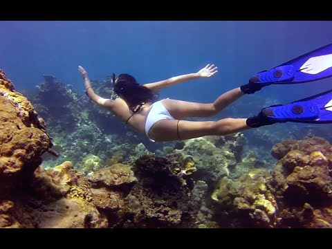 Freediving on Surin Islands, Thailand : Ed Sheeran - I See Fire (Kygo Remix)
