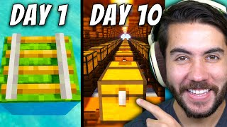 Can I Trade From a Rail To a Mega-Shop in Minecraft?? | E6