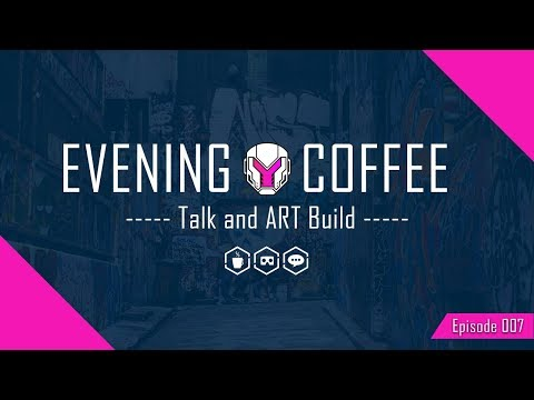 Evening Coffee - VR building and hangout | EP007