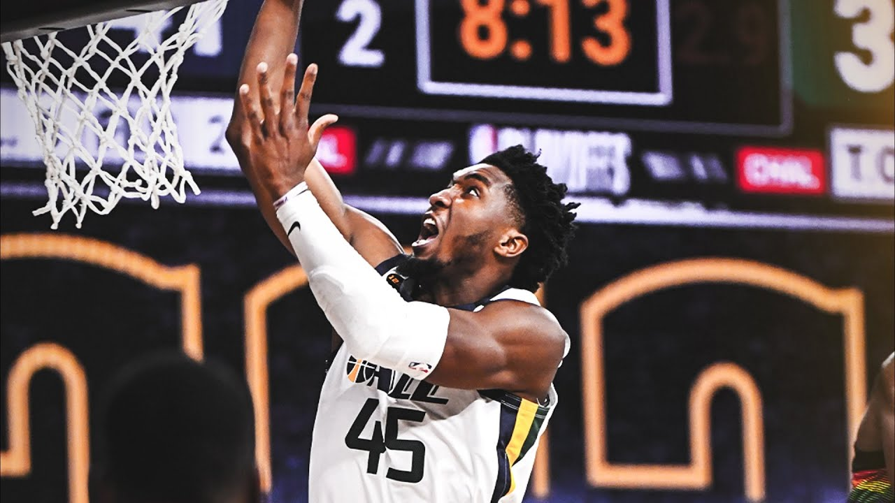Donovan Mitchell 57 Pts Game 1 vs Nuggets! 2020 NBA Playoffs