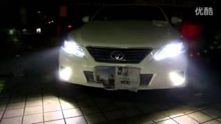 Winpower 2010-2013 Toyota Mark X Headlights