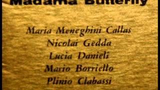 Puccini / Callas / Gedda / von Karajan, 1955: Madama Butterfly - Act II, Part 2