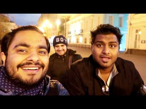 Mithilesh Backpacker INDIAN TRAVEL VLOGGER  IN MOSCOW
