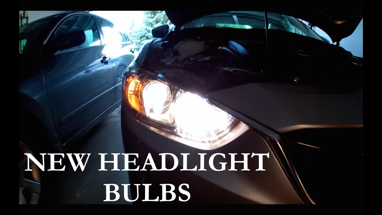 Mazda 6 Super White Xenon HID Upgrade Parking Beam Side Light Headlight Bulbs